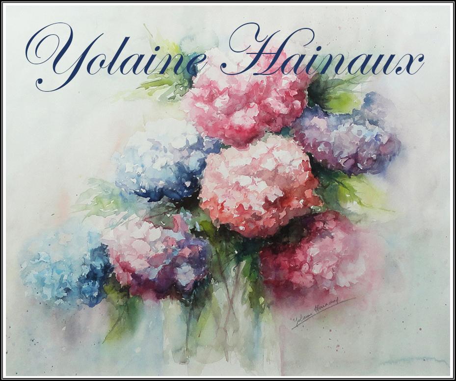Aquarelles Yolaine Hainaux